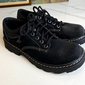 Skechers Parties Mate Chunky Leather Oxfords